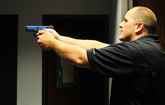 A Split-Second Decision: Criminal Justice Majors Experience Police Simulation