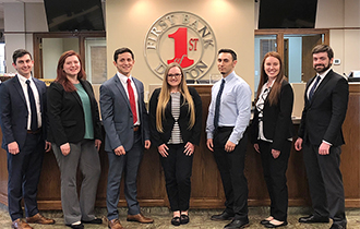 First Bank of Dalton Employs Seven Students, Grads of Dalton State