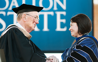 Venable Inaugurated as Fifth President of Dalton State