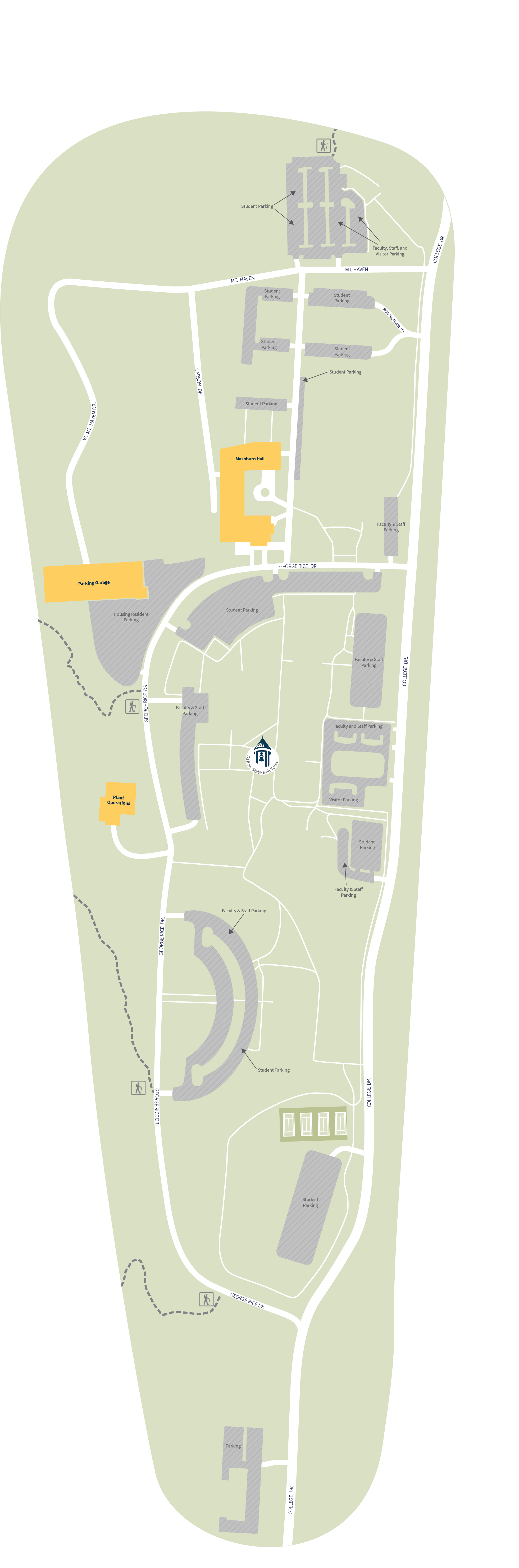 Polk State College Campus Map.Campus Map Dalton State College