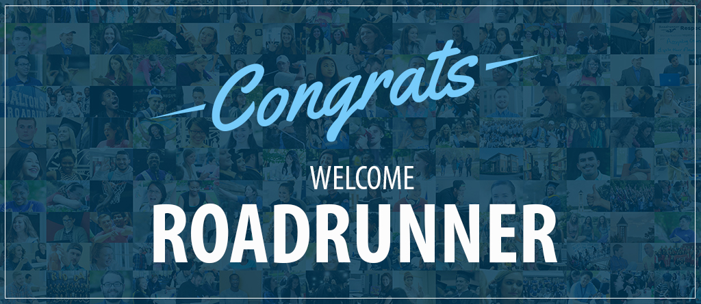 Congrats, Welcome Roadrunner!