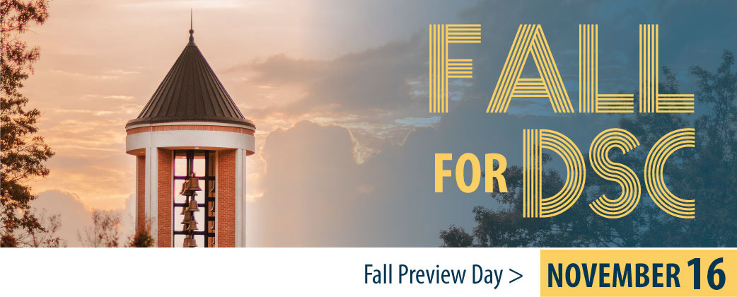 Fall for DSC: Fall Preview Day is November 16