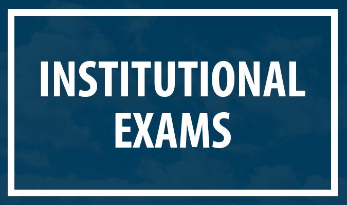 Institutional Exams