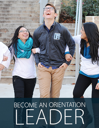 Become an Orientation Leader