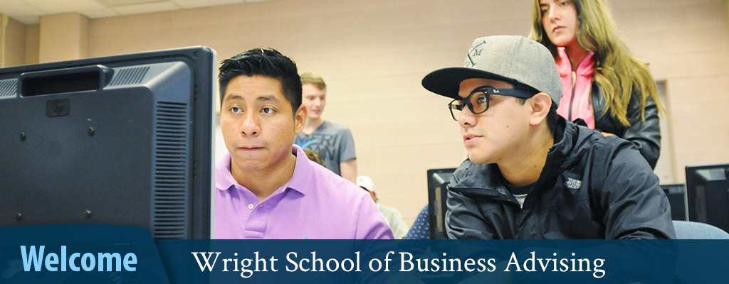 Wright School of Business Advising