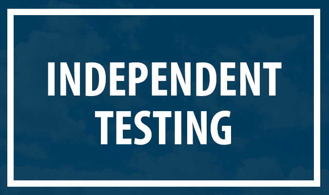 Independent Testing
