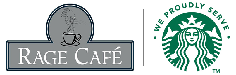 Rage Cafe - Proudly serving Starbucks Coffee
